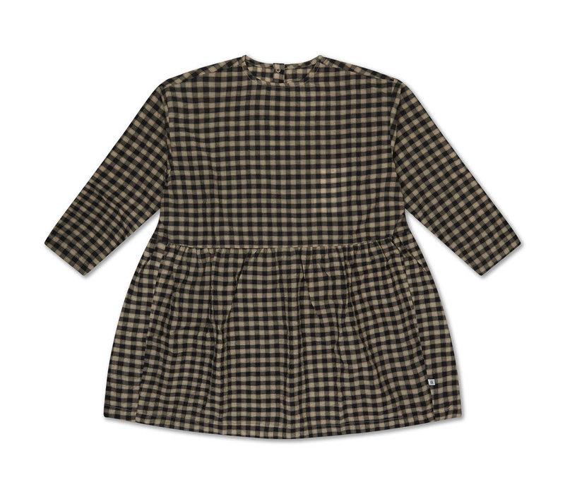Twirl Dress Noir Bb Check