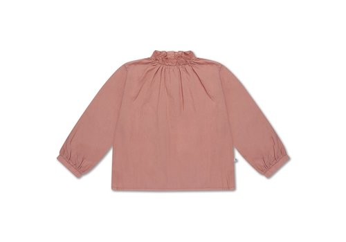Repose AMS Ruffle Blouse Powder Peachy