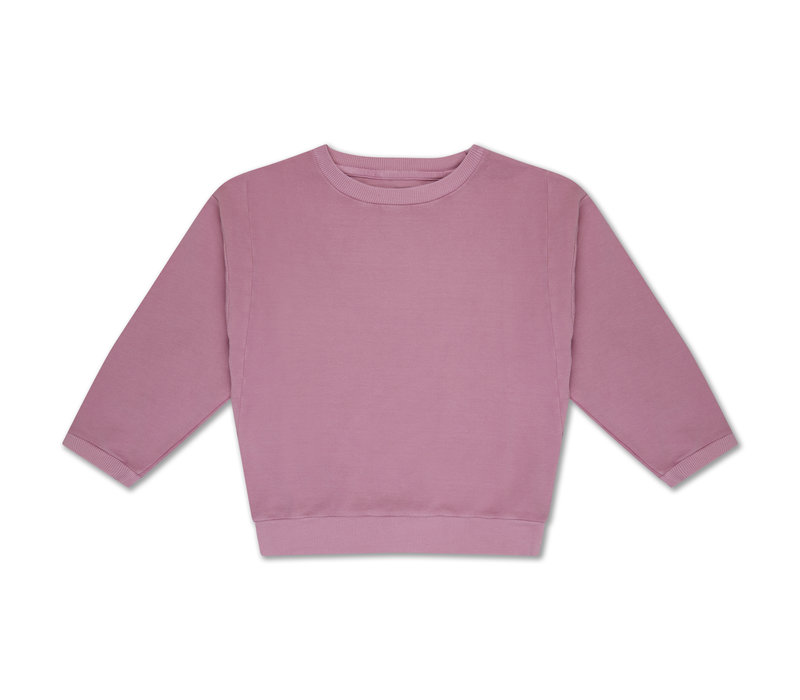 Crewneck Sweater  Rose Pink