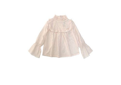 Long Live the Queen ruffle blouse milk 423