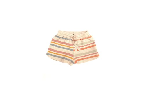 Long Live the Queen terry shorts stripe