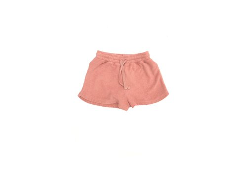 Long Live the Queen terry shorts rose tan