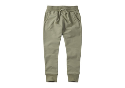 MINGO Slim fit jogger Laurel Oak