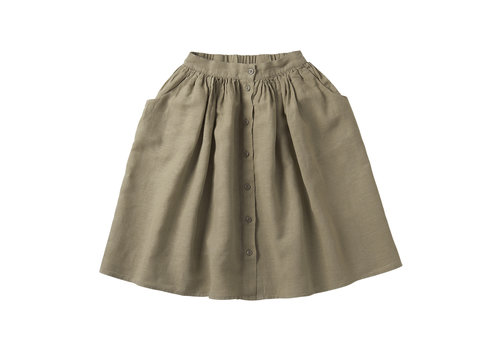 MINGO Linen skirt Laurel Oak