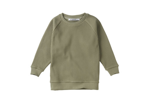 MINGO Sweater Favo Laurel Oak