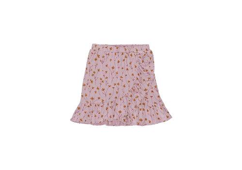 Soft Gallery Dakota Skirt Dawn Pink, AOP Buttercup S