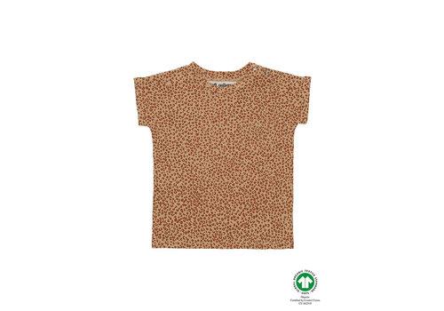 Soft Gallery Frederick T-shirt Taffy, AOP Leospot