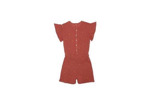 Soft Gallery Fairy Jumpsuit Cinnabar, AOP Dotty Emb