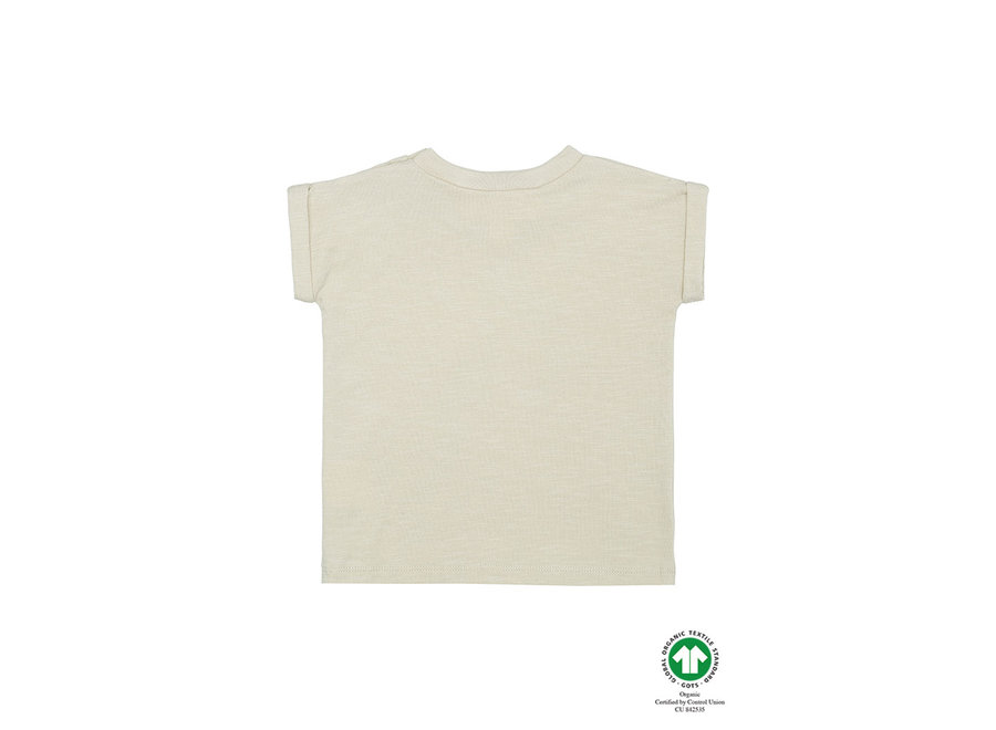 Frederick T-shirt Oyster Gray, Pods