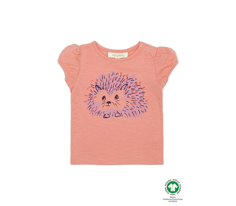 Frannie T-shirt Tawny Orange, Hedgy
