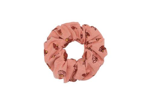 Soft Gallery Scrunchie Tawny Orange, AOP Camomile S