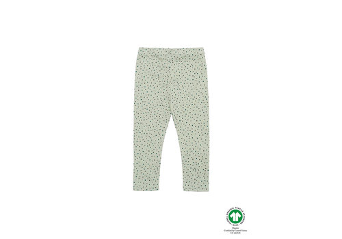 Soft Gallery Baby Paula Leggings Swamp, AOP Trio Dotties