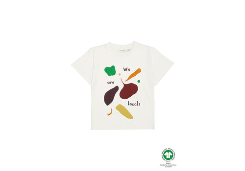 Soft Gallery Asger T-shirt Gardenia, Vegtables