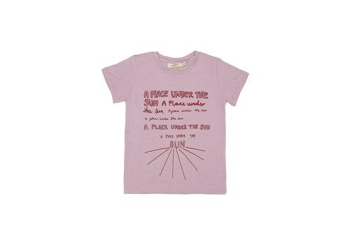 Soft Gallery Bass T-shirt Dawn Pink, Sunspot