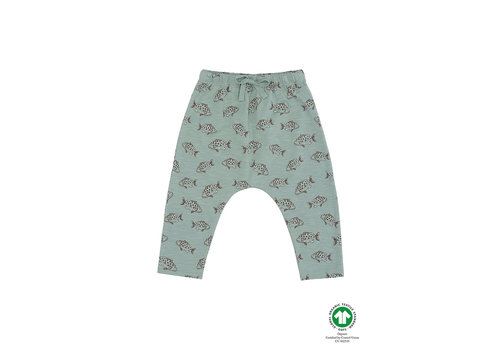 Soft Gallery Hailey Pants Jadeite, AOP Fish