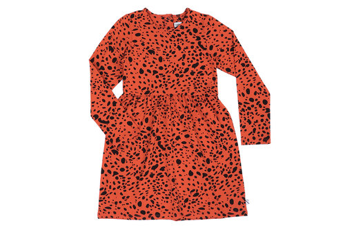 CarlijnQ Spotted animal - dress longsleeve