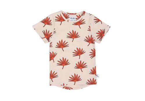CarlijnQ Palm leaf - t-shirt dropback