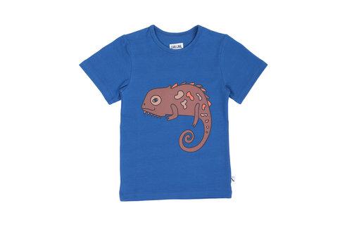 CarlijnQ Chameleon boy - t-shirt + print