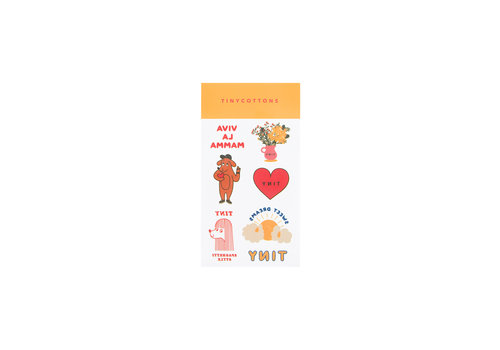 Tiny Cottons Dolce Far Niente Tattoos Multicolor