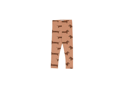 Tiny Cottons Il Bassotto Pant Tan/Dark Brown