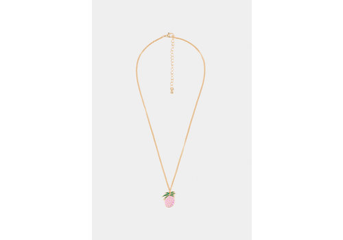 BOBO CHOSES Pineapple Necklace Spectra Yellow