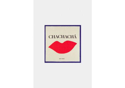 BOBO CHOSES Chachacha Kiss Square Scarf Turtledove