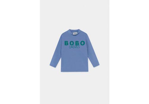 BOBO CHOSES Bobo Choses Swim Top Azure Blue