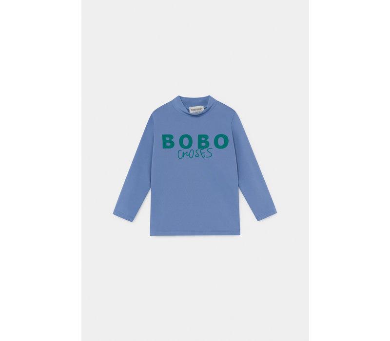 Bobo Choses Swim Top Azure Blue