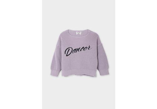 BOBO CHOSES Dancer Knitted Jumper Heather Rose