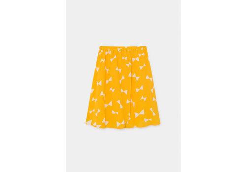 BOBO CHOSES All Over Bow Wrap Midi Skirt Spectra Yellow