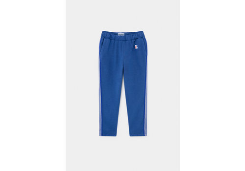 BOBO CHOSES Blue Jogging Pants Magazine Blue