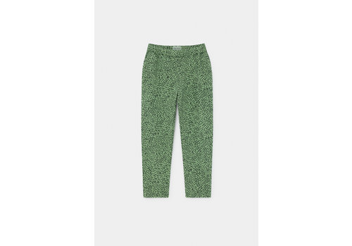 BOBO CHOSES All Over Leopard Jogging Pants Aspen Green
