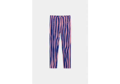 BOBO CHOSES Groovy Stripes Leggings Heather Rose