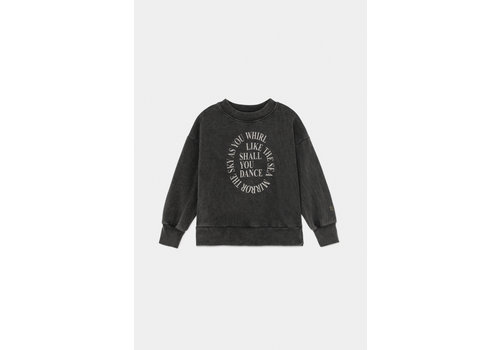 BOBO CHOSES Shall You Dance Sweatshirt Dark Grey