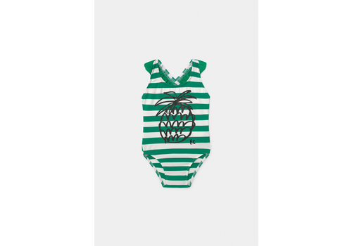 BOBO CHOSES Pineapple Baby Swimsuit Turtledove