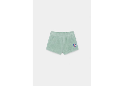 BOBO CHOSES B.C. Terry Towel Shorts Frosty Green