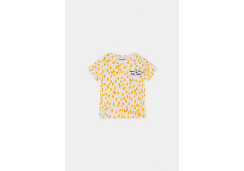 BOBO CHOSES Animal Print T-Shirt Turtledove