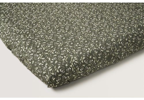 Garbo & Friends Floral Moss Adult Fitted Sheet