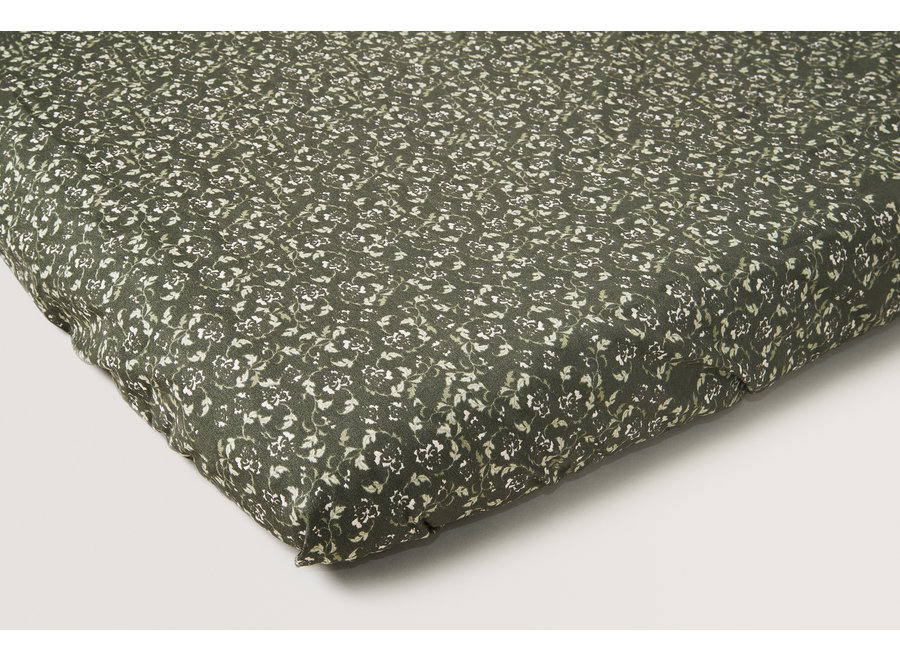 Floral Moss Adult Fitted Sheet