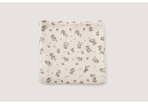 Garbo & Friends Clover Muslin Swaddle Blanket
