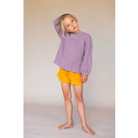 crinkle blouse  lavender