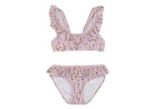 Soft Gallery Alicia Bikini Dawn Pink, AOP Buttercup S