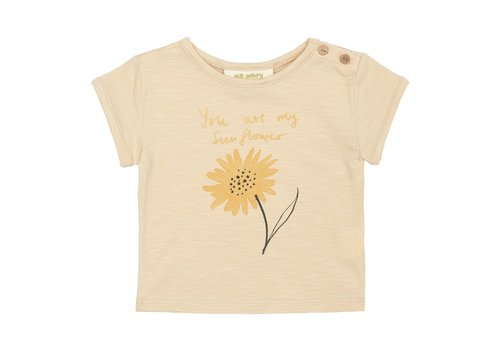 Soft Gallery Nelly T-shirt Winter Wheat, Sunny