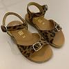 Gallucci Leopard sandalen met verstelbare gespen
