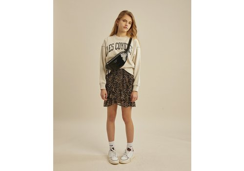 Les Coyotes de Paris Melina Stone Melange  Sweatshirt