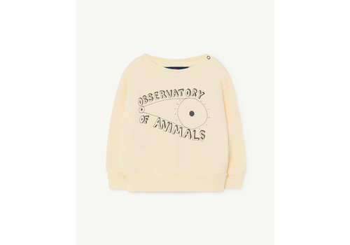 The Animals Observatory Bear Baby Sweatshirt Yellow Observatory