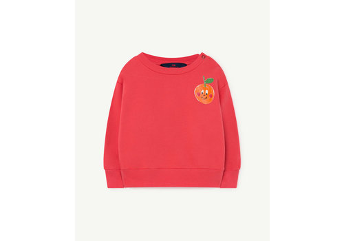 The Animals Observatory Bear Baby Sweatshirt Red Fruit