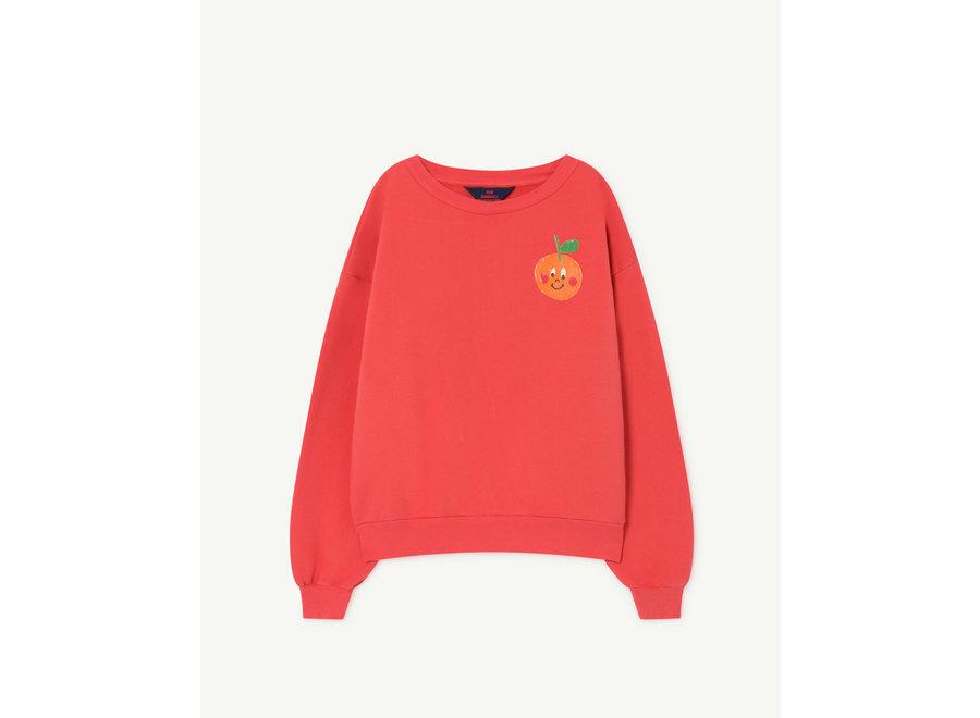 Bear Kids Sweatshirt Red Fruit