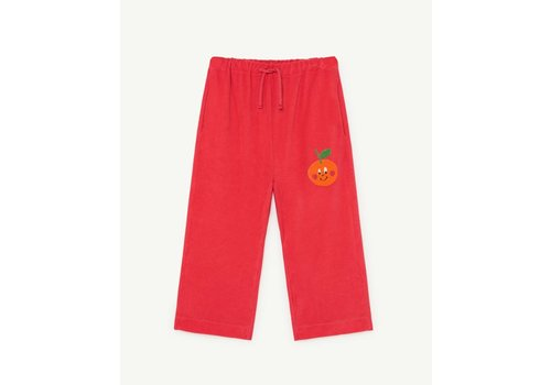 The Animals Observatory Porcupine Kids Pants Red Fruit
