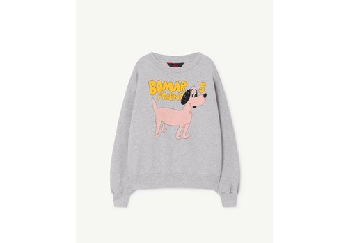 The Animals Observatory Bear Kids Sweatshirt Grey Dog